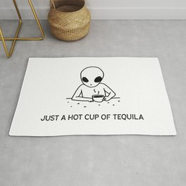 Just a hot cup of Tequila Rug