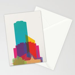 Shapes of Edmonton Stationery Cards