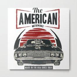 The American Motorworks Metal Print