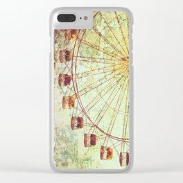 End of Summer Clear iPhone Case