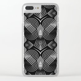 Art Deco. Diva 27 . Clear iPhone Case