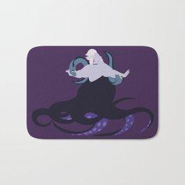Ursula and her eels Bath Mat