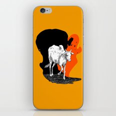 COW IS GOD iPhone & iPod Skin