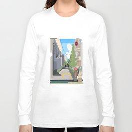 Japan Still Life 003   路地 Long Sleeve T-shirt