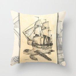 SS Terrapin Throw Pillow