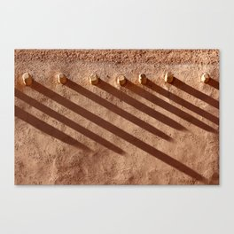 Shadow Beams Canvas Print