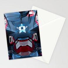 Iron/Patriot body armor. Stationery Cards