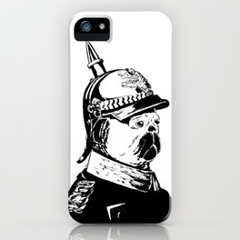 The Emperor Pug iPhone Case