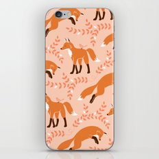 Socks the Fox - Dawn iPhone & iPod Skin