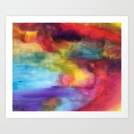 Colorful Sight Art Print