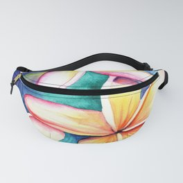 Blooming Plumeria 5 Fanny Pack
