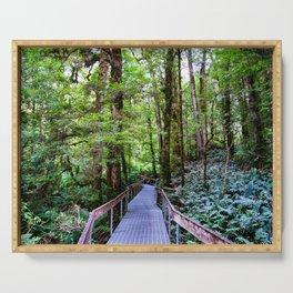 Rainforest Gallery, Warburton, Victoria Serving Tray