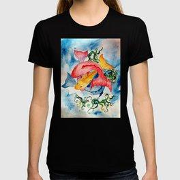 Colorful Fish Swirl T-shirt