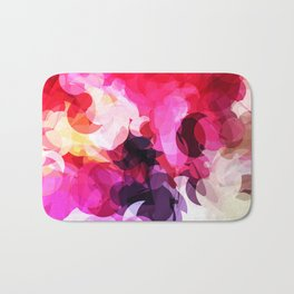 Bright Happy Color Abstract Bath Mat