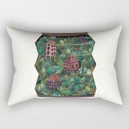 Terrarium Rectangular Pillow