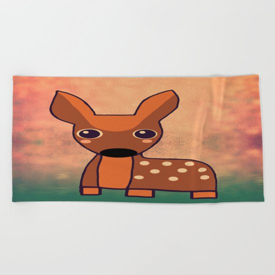 Little Deer-341 Beach Towel