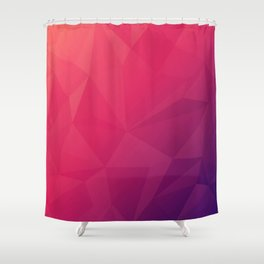 warm colors Shower Curtain