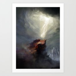 The Gathering Storm Art Print