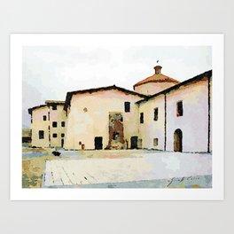 Catanzaro: convent Art Print