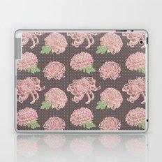 Soft Pink Chrysantemum Seamless Pattern Laptop & iPad Skin