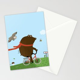 The Bear goes to the City Stationery Cards