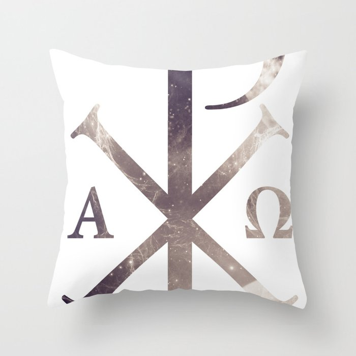 Chi Rho Throw Pillow By Bradleyhardwick Society6