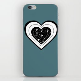Don't use my heart for Target Practice iPhone Skin