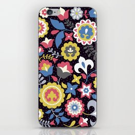 Flowers motives iPhone Skin