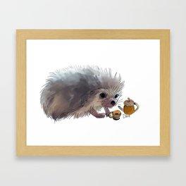 Acorn Tea Framed Art Print