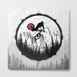Whip In The Wild Metal Print