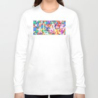 la Long Sleeve T-shirts featuring LA by StuartWallaceArt