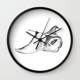 Manta - the ray Wall Clock