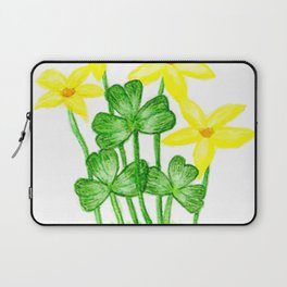 Shamrock Garden Laptop Sleeve