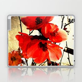 Spring Red 3, Royal Botanical Gardens - Melbourne Laptop & iPad Skin