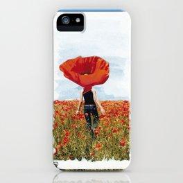 Poppy Feeling iPhone Case