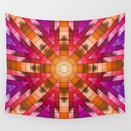 Sunset in the Painted Desert Wall Tapestry