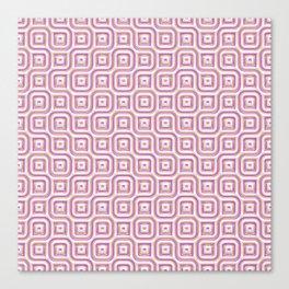 Rose Truchet Tilling Pattern Canvas Print