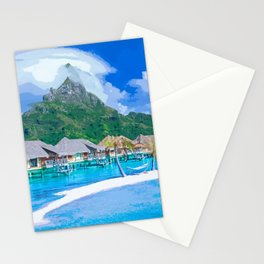 A Memorable Summer Vacation Stationery Cards