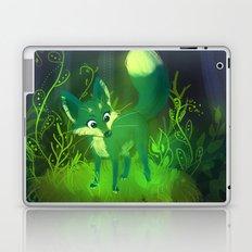 Green Fox Laptop & iPad Skin
