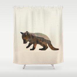 Little Ones: Fox Shower Curtain