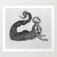 Splice Art Print