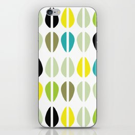 Cowrie Dots-Multi iPhone Skin