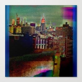 Manipulated City Canvas Print