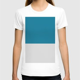 DARK BLUE/GREY PATTERN  T-shirt