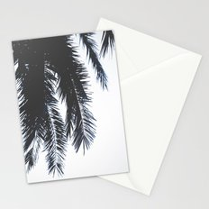 Palm Tree leaves abstract Stationery Cards