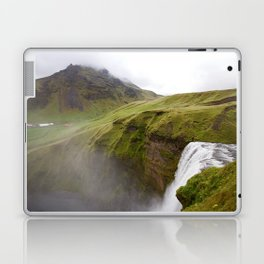 Iceland green Laptop & iPad Skin