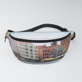 Willemstad on Curacao Panorama Photo Fanny Pack