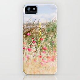 Aquarelle dreams of nature iPhone Case