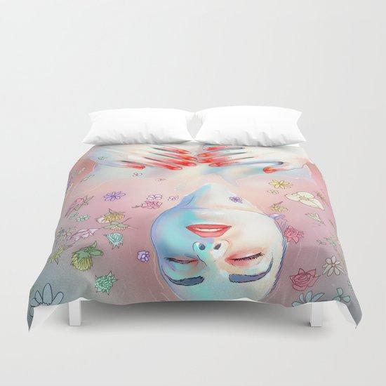 Flower Bath 5 Duvet Cover