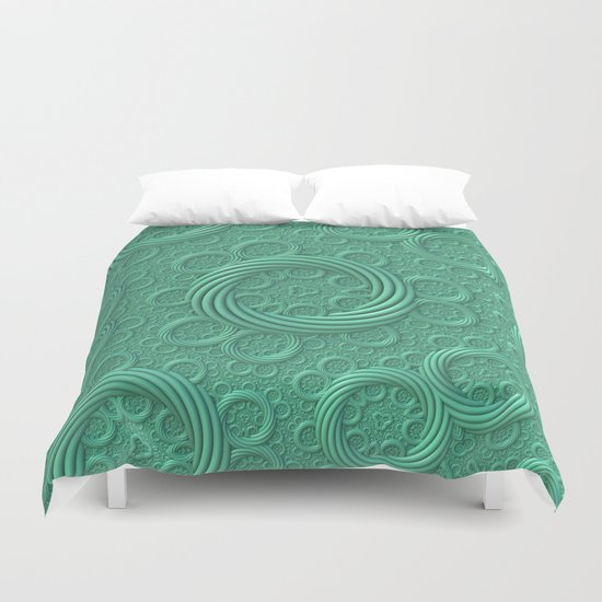Rings Duvet Cover